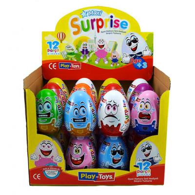 Яйцо MAXI Surprise Egg Разноцветные друзья P-T 693