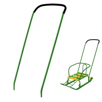Ручка-толкатель Зелёная 123